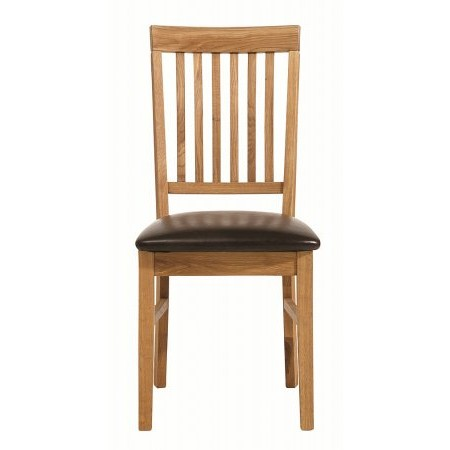 The Smith Collection - Royal Oak Dining Chair Oiled Oak