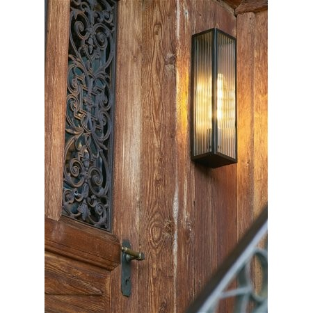 Dar Lighting - Keegan Outdoor Wall Light