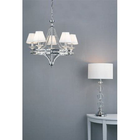 Dar Lighting - Mabry Chandelier