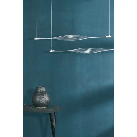 Dar Lighting - Twist 2lt Bar Pendant