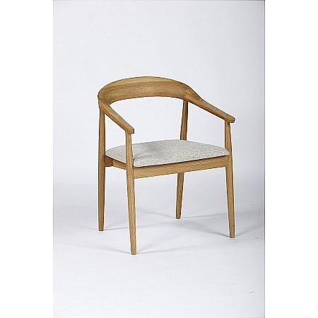 The Smith Collection - Malmo Carver Dining Chair