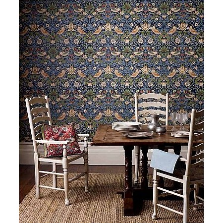 William Morris - Strawberry Thief Wallpaper