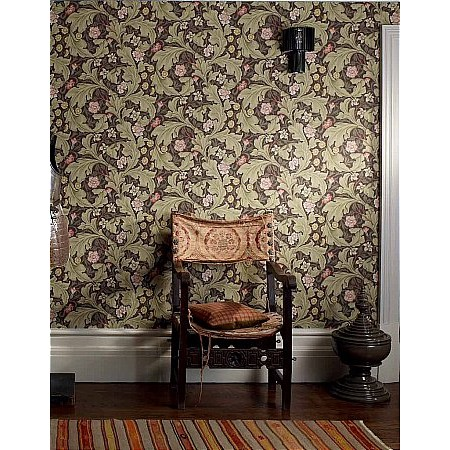 William Morris - Leicester Wallpaper