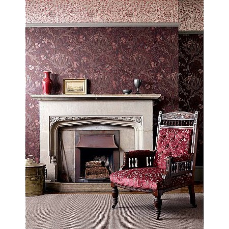 William Morris - Artichoke Wallpaper and Fabrics