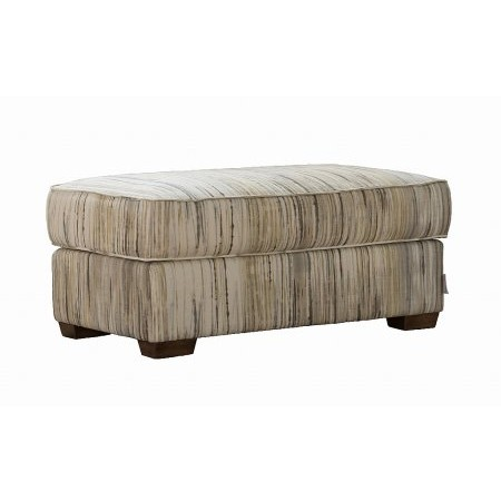 Collins And Hayes - Footstool Large Upholstered