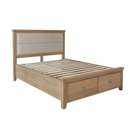 Kettle Interiors - HO Bed with Drawer Footboard Set