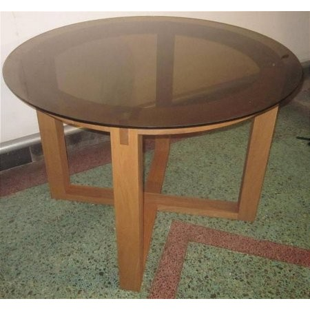 The Smith Collection - Royal Oak Glass Table
