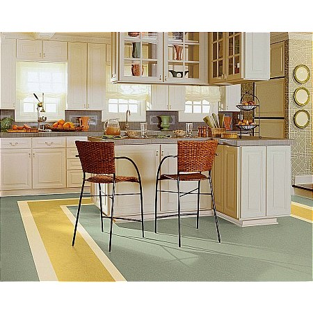 Armstrong - Linoleum Marmorette Bamboo Tan