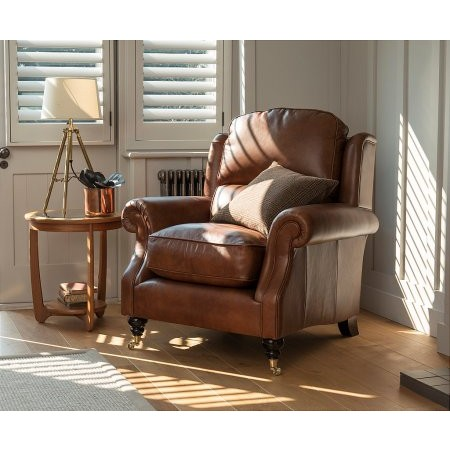 Parker Knoll - Oakham Leather Armchair