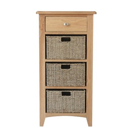 Kettle Interiors - GAO 1 Drawer 3 Basket Unit