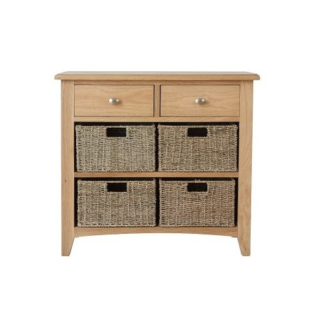 Kettle Interiors - GAO 2 Drawer 4 Basket Unit