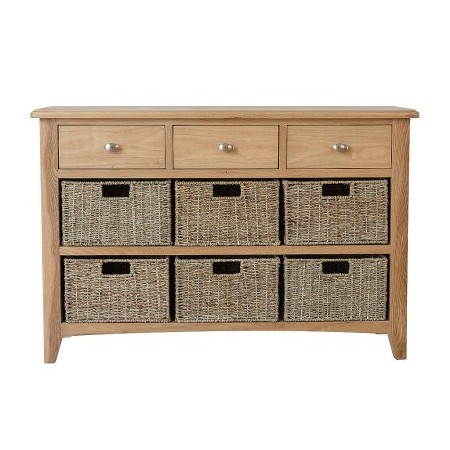 Kettle Interiors - GAO 3 Drawer 6 Basket Unit