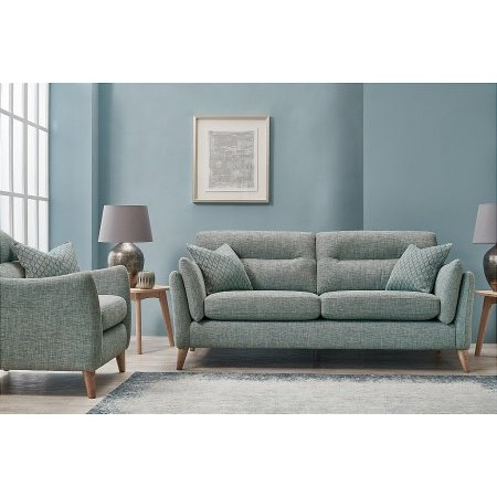 The Smith Collection - Hereford 3 Seater Sofa