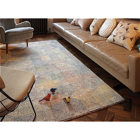 Asiatic Carpets - Camden Cream Multi Rug