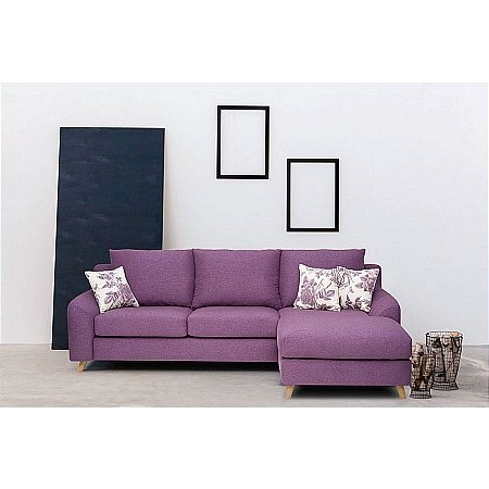 The Smith Collection - Lewis Chaise Sofa