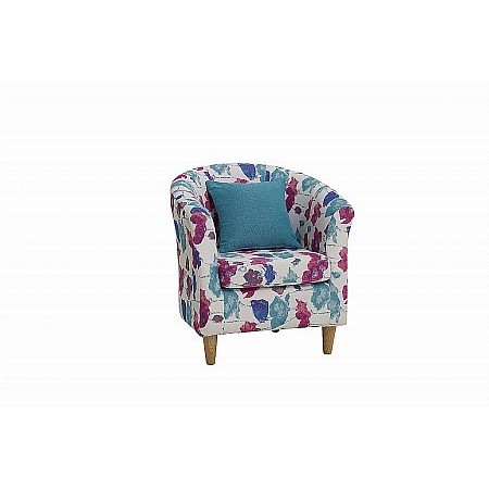 The Smith Collection - Jayne Tub Chair