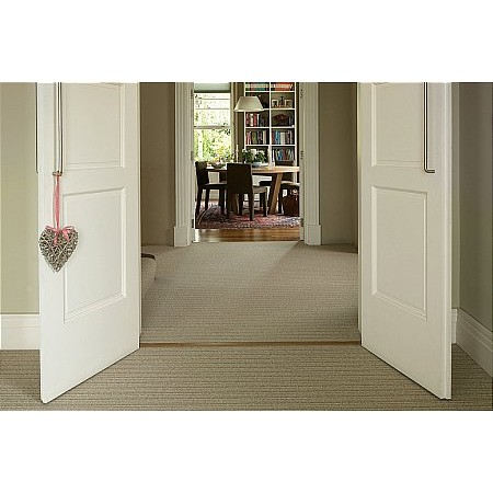 Ulster Carpets - Open Spaces Laneve Carpet Wellington Stripe