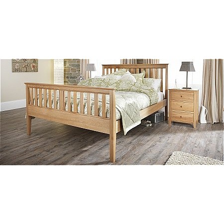 Serene - Salisbury High Foot End Bed