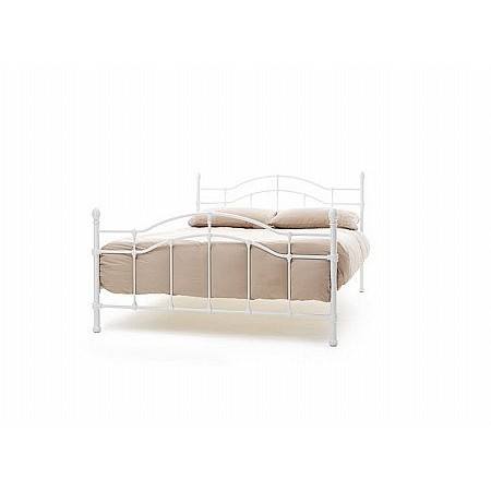 Serene - Paris Bed in White
