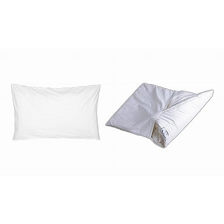 Devon Duvets - 2 Fold Wool Pillow