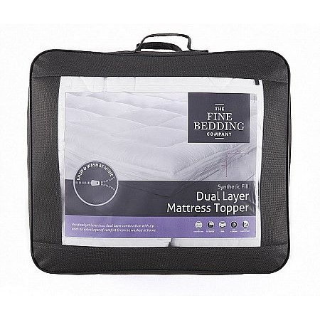 The Fine Bedding Company - Dual Layer Topper