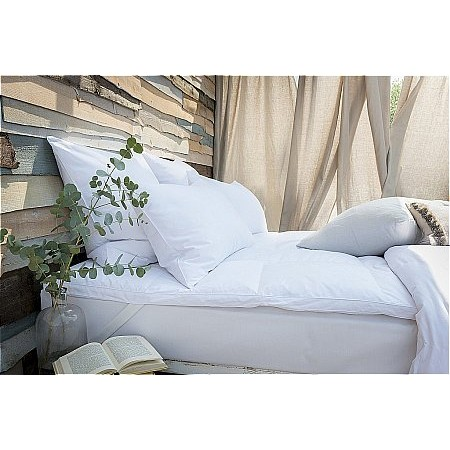 The Fine Bedding Company - Duck Feather and Down Mattress Topper