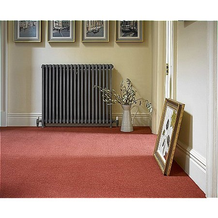 Brockway Carpets - Dimensions Plain Carpet Tomato