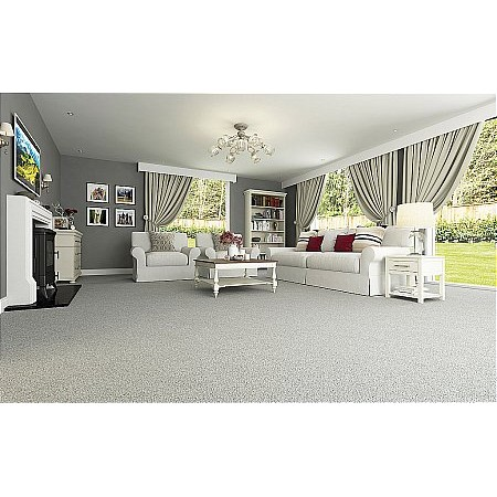 Axminster Carpets - Devonia Plains Teign Grey Carpet