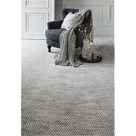 Axminster Carpets - Hazy Days Leapfrog Coconut Milk Carpets
