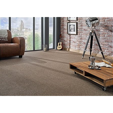 Kingsmead Carpets - Fantastic Plus Ab Peat Carpet