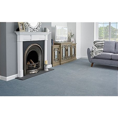 Kingsmead Carpets - Serenity Azure Carpet