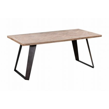 Kettle Interiors - IB 130cm Fixed Top Dining Table