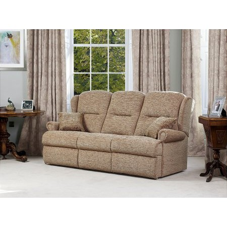 Sherborne - Malvern Small Fixed 3 Seater Settee