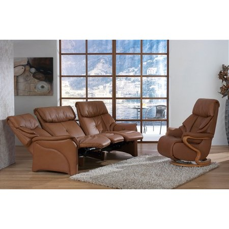 Himolla - Chester Leather Recliner Suite