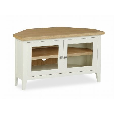 Corndell - Tetbury Corner TV Unit with Doors