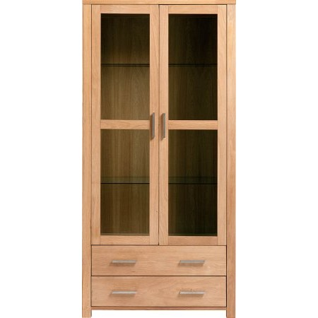 The Smith Collection - Royal Oak Glazed Display Cabinet